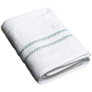 Lenox Pearl Essence Bath Towel White Amp Mint