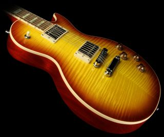 2010 Gibson Les Paul Standard Plus Electric Guitar Honeyburst