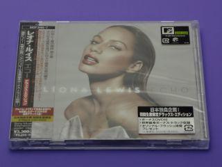 Leona Lewis Japan limited planning CD+DVD Deluxe Edition Bonus track