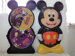 2Disc Walt Disney Treasures Mickey Mouse in Living Color Vol 1 Spanish