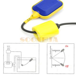 Water Tank Liquid Fluid Level Controller Sensor Float Switch