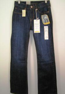 Levis 525 Perfect Waist Boot Cut Womens Petite Jeans 2P 2 P Medium