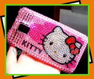 LG T Mobile G2X P990 Hello Kitty Bling Case Cover DC