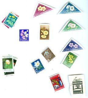 Lot Vintage 1959 International Postage Stamps Mail