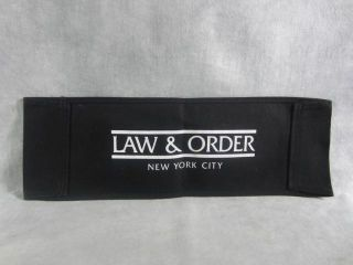 Law Order New York City Production Used Director Chair Backs