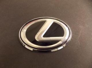 Lexus L Black Emblem Logo Badge IS300 IS250 is350 SC GS ES LS RX