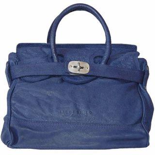 Liebeskind Berlin ♥ Gloria Mid Blue Vintage Leather Bag Satchel