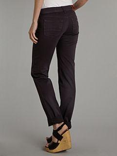 Armani Jeans Skinny leg moleskin jean Plum