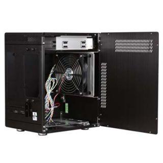Lian Li PC Q11B Black Aluminum Mini ITX Tower Case