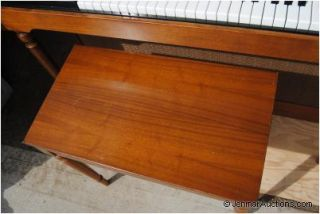 Lowrey TS 88 R Organ for Parts Leslie Speaker Organ Bench in Ct