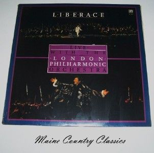 Liberace Live w London Philharmonic ORCH New SEALED LP