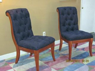 Lexington Hancock Park Blue Camden Dining Chair Set