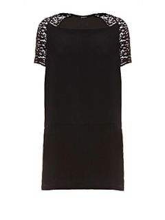Kookai Lace bolero detail dress Black