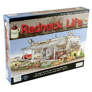 The Game of Redneck Life Board Game by Gut Bustin Games GUT1000