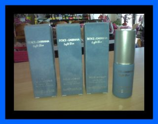 Dolce Gabbana Light Blue Cologne Shave Oil Pour Homme for Men Lot So