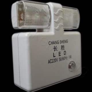 Powered Wall Plug LED Automatic Light Control Sensor Nightlight