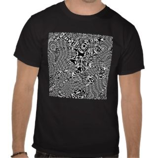 Optical illusions t shirt