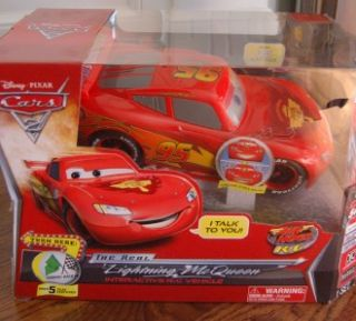 Cars 2 Lightning McQueen Remote Control Car New in Box, PLUS Race
