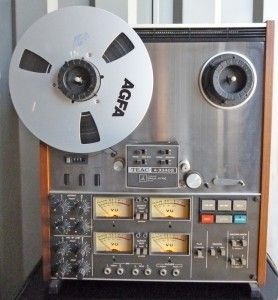 3340s Reel to Reel Tape Deck 4 Channel 2 Speed CD Quality