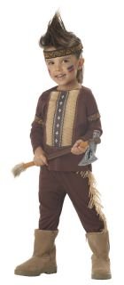 Toddler Lil Warrior Indian Halloween Costume 00087