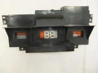 INSTRUMENT CLUSTER LINCOLN CONTINENTAL MARK VII 1984 1985 1986