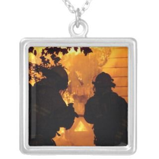 Firefighter Team Custom Necklace