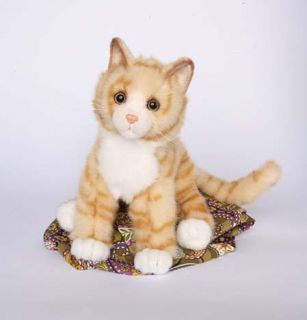 Peaches Orange TIGER CAT Plush Toy 16 Stuffed Animal CAT Kitty NEW
