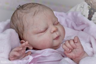 New Reborn Baby Boy or Girl Doll Kit Libby by Cindy Mosgrove