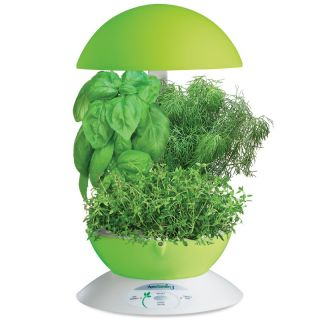 Lot of 2 Aerogarden 3 Systems Lime Green Color Hydroponic