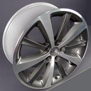 19 Machined Gunmetal Lincoln MKS MKT Wheel 3767 Rim
