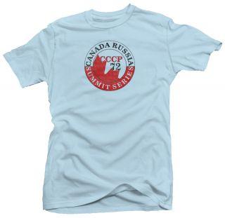Summit Series Canada Russia 72 Hockey 70s Retro T Shirt