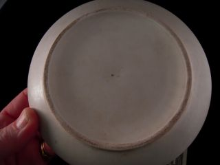 Vtg Arabia Finland Richard Lindh Flower Pot Planter Saucer White 5