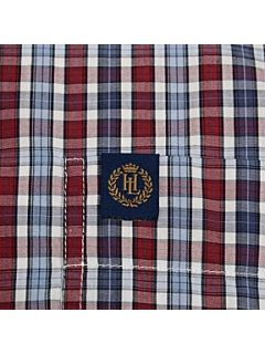 Henri Lloyd Halyard classic short sleeved shirt Crimson   House of Fraser