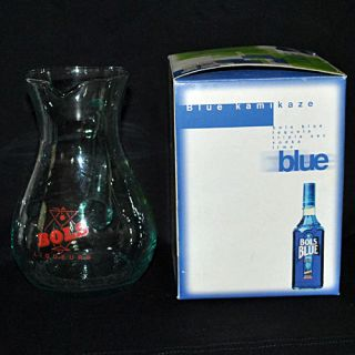 Bols Blue Liqus Glass Small Pitcher New