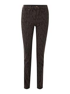 Armani Jeans Leopard print slim leg jean Leopard