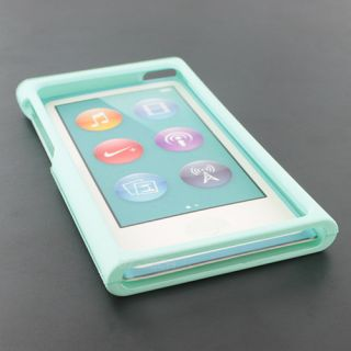 Limon Green Rubberized Hard Case Snap On Cover For Apple iPod Nano 7