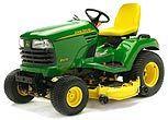 2004 x 475 John Deere Tractor w XL Cyclone Rake Plow