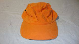 11 Orange Ball Caps One Size Fits All 70 Cotton 30 Nylon