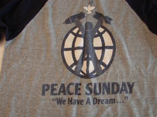 Peace Sunday Concert Tour T Shirt Stevie Nicks Linda Rondstadt