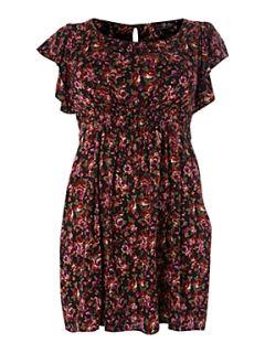 Lovedrobe Ditsy floral print dress Red