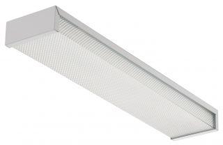 Lithonia Lighting 3324 24in Fluorescent Wrap Around Box Light Fixture