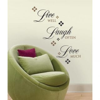 Live Love Laugh Wall Decals Sticker Home Decor Quotable