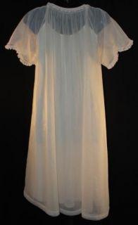 Lorraine Lingerie Pink Innocent Babydoll Sissy Nightgown Peignoir Set