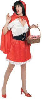 Little Red Riding Hood Adult Standard Costume New