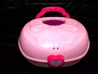 Cute Vtech Pink Fun Shapes Jewelry Box Shapes Lights Music Learning