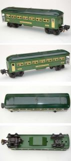 Lionel Prewar No 2641 O Gauge Pullman Observation Train Car