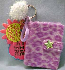 Lizzie McGuire Purple Photo Album Key Ring Clip on LQQK