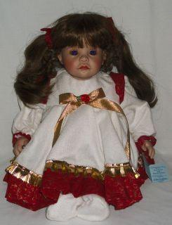 Lloyd Middleton Christmas Joy Doll Bear Signed Numbered 153 750 Royal