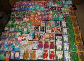 Huge Lot More Than 200 McDonald Beanie Babies Bears NIP