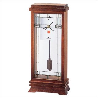 Bulova B1839 Frank Lloyd Wright Willits Mantel Clock